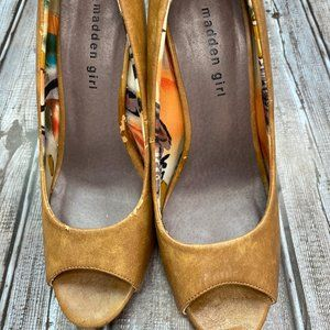 Madden Girl  open toed heel